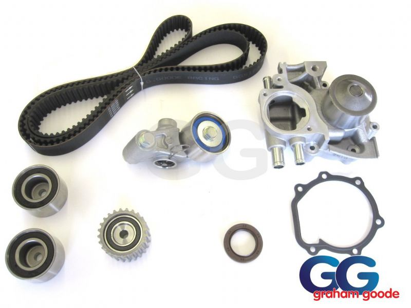 Subaru Impreza Turbo WRX STI Cam Timing Belt Kit Front Crank Seal Water Pump 1996-1998 GGS123TBK9